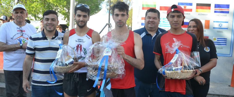 """Con 170 atletas se realizó la """"Maratón del Inmigrante"""""""