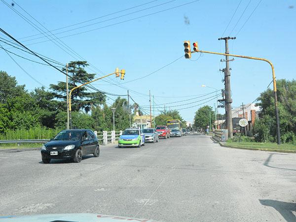 """Extensión de la duración del semáforo de Montevideo y la Avenida """"Juan Domingo Perón"""""""