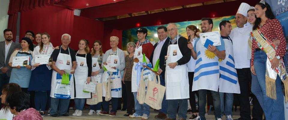 """Los representantes Vascos fueron ganadores del séptimo concurso de comidas típicas """"Los Sabores de Berisso"""""""
