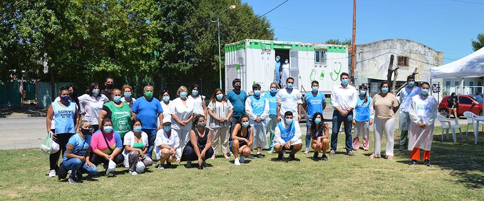 Se realizó un nuevo Operativo Detectar y jornada de prevención de Dengue en la Plaza 17 de Octubre
