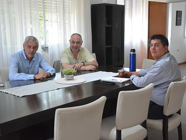 Reunión con autoridades del Colegio de Ingenieros de la Provincia