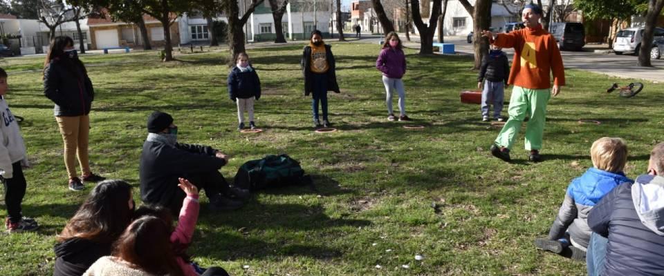 Vacaciones de invierno: nueva jornada recreativa, cultural y deportiva en dos puntos en simultáneo
