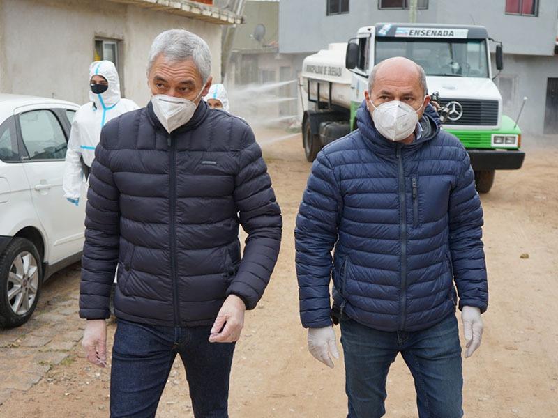 Continúan los operativos sanitarios en el barrio José Luis Cabezas