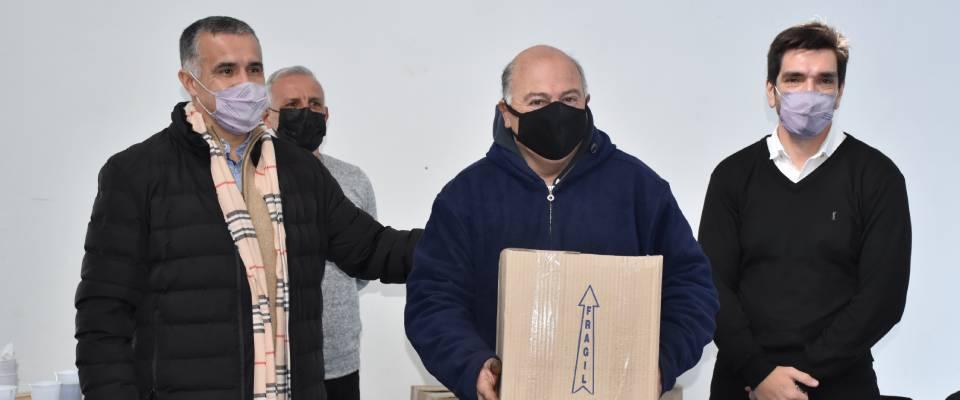Clubes locales recibieron apoyo de Nación para regularizar su documentación y concretar obras