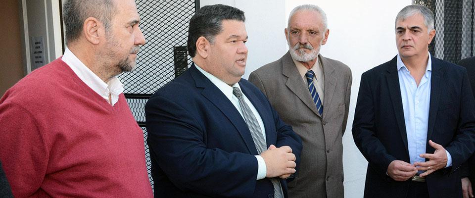 El Intendente Nedela dejó inaugurada formalmente la nueva sede del Juzgado de Faltas N°2 en Villa Argüello