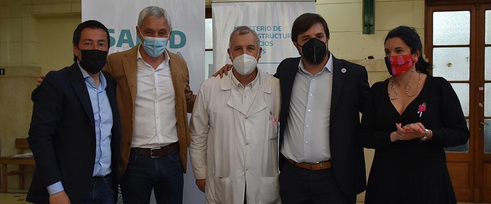 Cagliardi participó de reunión de trabajo junto a los ministros provinciales Kreplak y Nardini