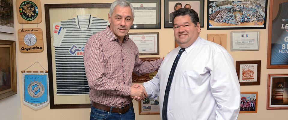 El intendente Jorge Nedela recibió al jefe comunal electo Fabián Cagliardi para ordenar la transición del Gobierno Municipal