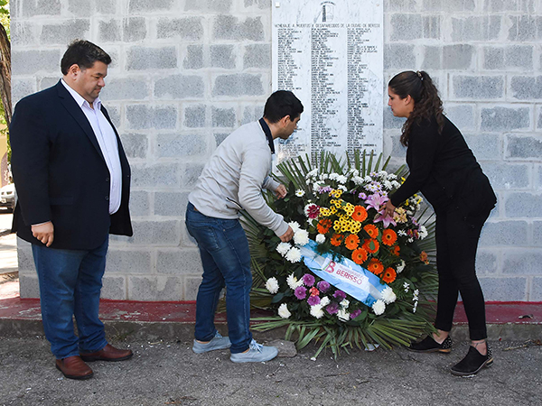 """El Intendente Nedela encabezó el acto oficial por el """"Día Nacional de la Memoria, por la Verdad y la Justicia"""""""