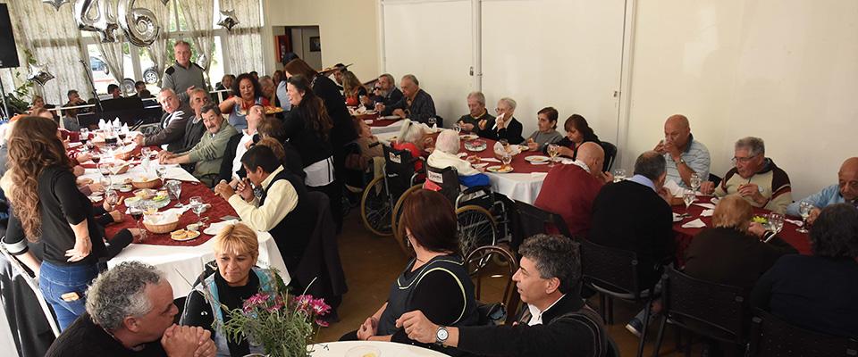 El Hogar de Ancianos celebró sus 46 años de su fundación