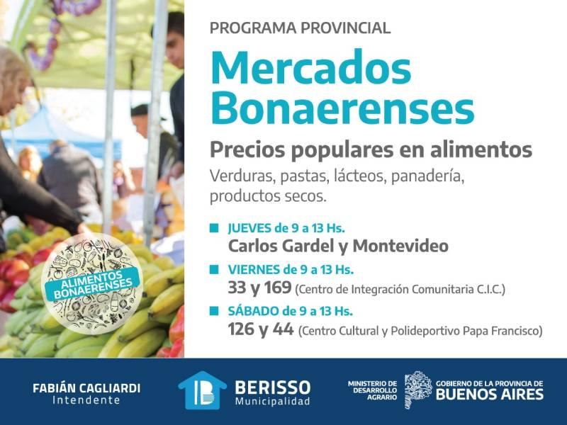 "Berisso se suma al programa ""Mercados Bonaerenses"""