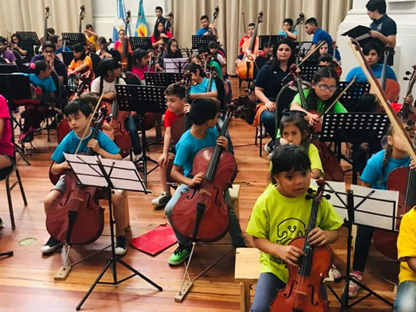 La Orquesta Escuela cierra el año con la grabación de un DVD y distintos conciertos