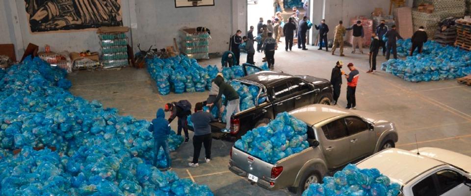 Nueva entrega de alimentos del Servicio Alimentario Escolar (SAE)