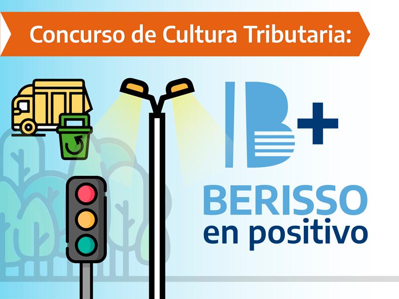 """Comienza el concurso de cultura tributaria """"Berisso en Positivo"""" para estudiantes de la ciudad"""
