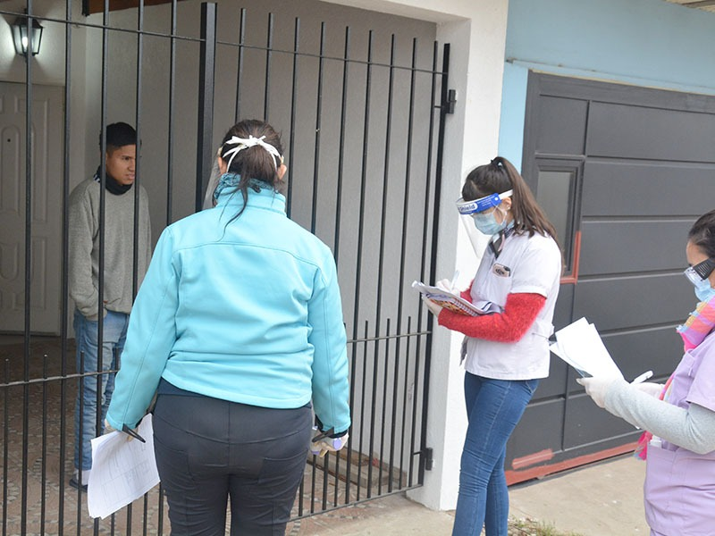 Coronavirus: Cagliardi encabezó un abordaje territorial en Villa Argüello