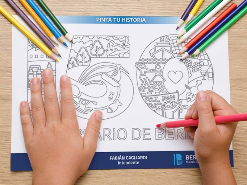 """La propuesta """"Pintá tu historia"""" se suma a los festejos por los 150 años de Berisso"""