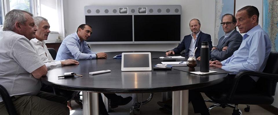 El intendente Cagliardi y el administrador de Vialidad Nacional Gustavo Arrieta definieron proyectos para generar nuevos accesos